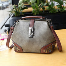 Load image into Gallery viewer, Classic Vintage Design Pu Leather Crossbody for Women Fashion Wild High Quality Shoulder Handbags Casual Female Top-Handle
