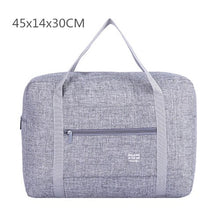 Load image into Gallery viewer, Portable Folding Large Travel Storage Bags Clothes Top-handle Pouch Luggage Organizer Cases Suitcase Accessories Supplies Stuff