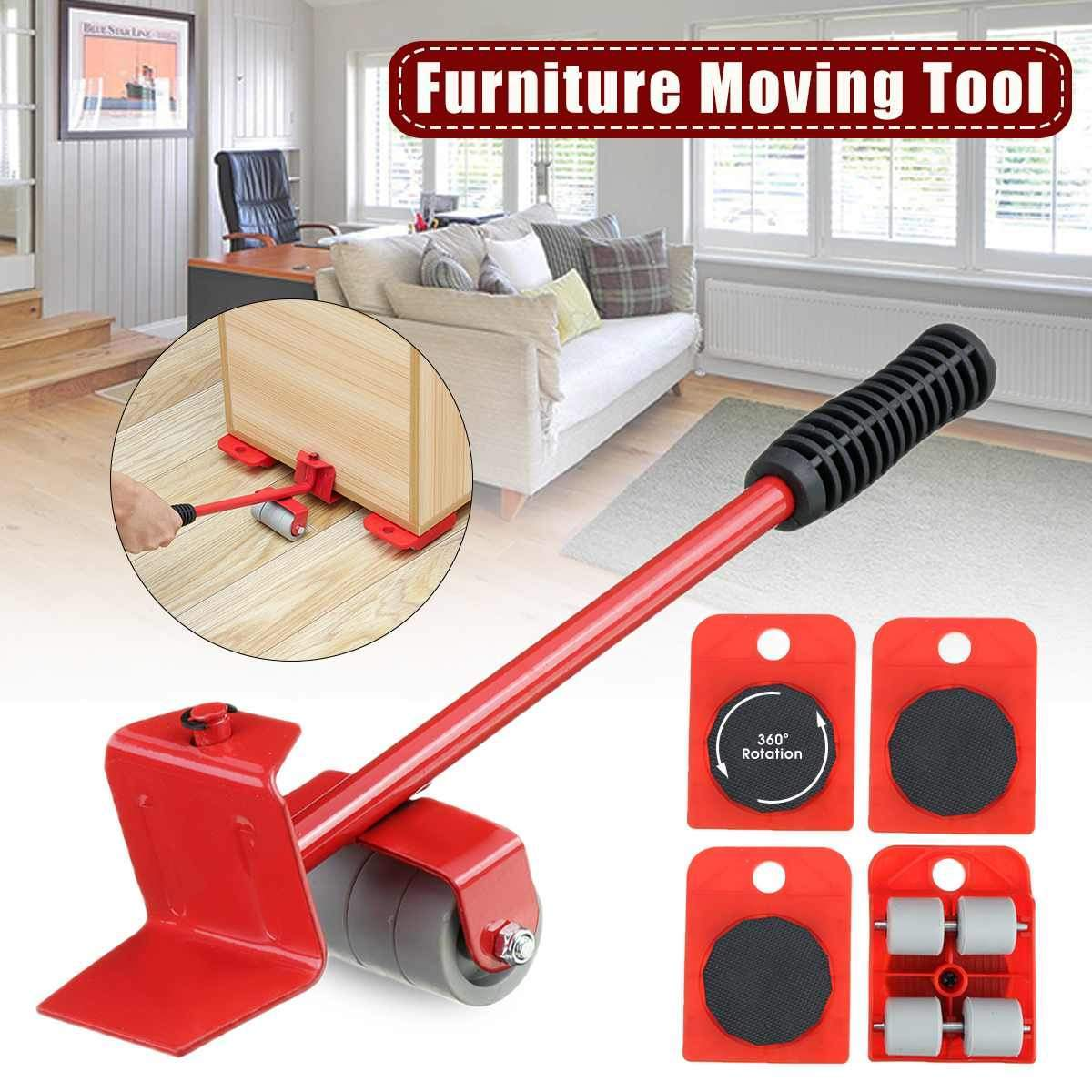FURNITURE LIFTER & MOVER TOOL SET (FREE Clever Cutter Worth ₹499 if Paid Online)