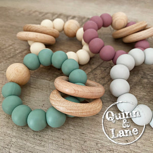 | Toys | RINGS & TEETHERS - Quinn & Lane