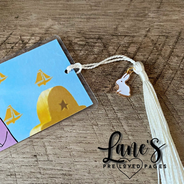 Lane's Preloved Pages | BOOKMARK | Max & Ruby - Reading (Bunny Charm)