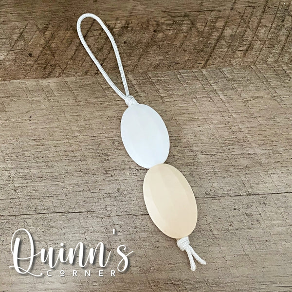 Quinn's Corner | ZIPPY LOOP | Flat Ovals - Natural