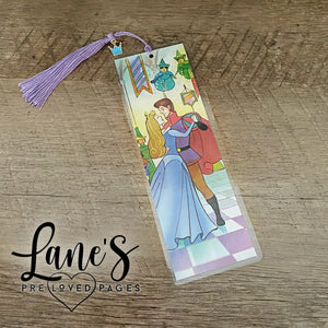 Lane's Preloved Pages | BOOKMARK | Sleeping Beauty - Prince Dance (Crown Charm)
