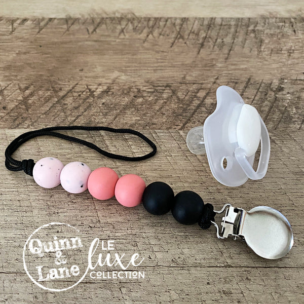 PACIFIER | Teething Clip - Hippie Shake | LE Luxe