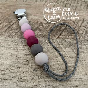 PACIFIER | Teething Clip - Steam Punk | LE Luxe
