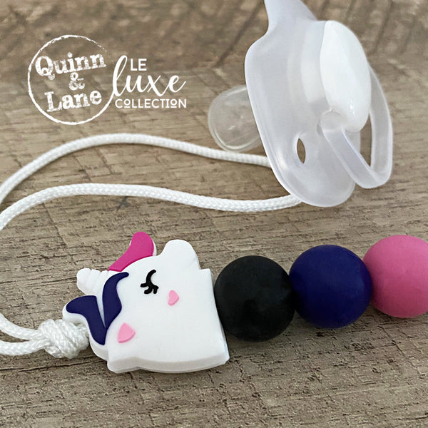 | Duo | Teething Clip & Ring - Unicorn | LE Luxe | - Quinn & Lane