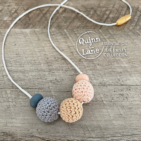 ADULT & KIDS | Essential Oil DIFFUSER Necklace -  Lunar Dream | MORE COLORS