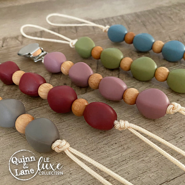 PACIFIER | Teething Clip - Lil' Nugget | LE Luxe | MORE COLORS