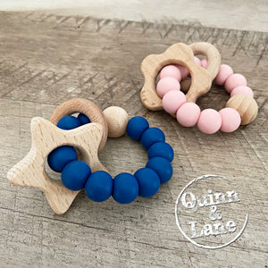 TOYS | Teething Ring - Fun Shape Rattle | MORE COLORS & SHAPES