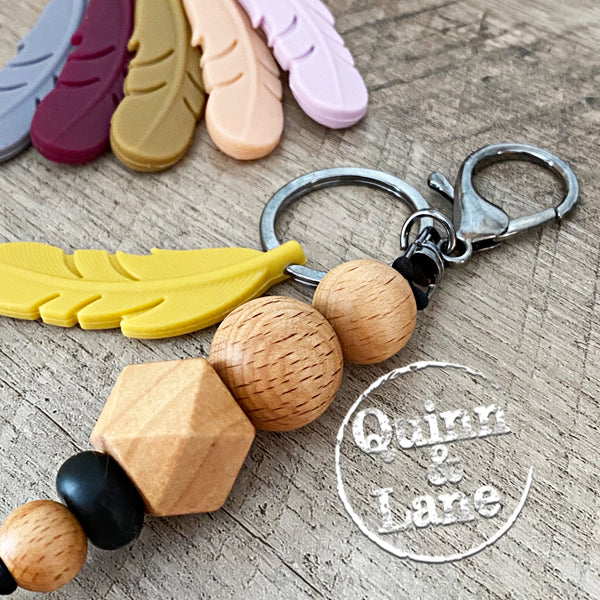 Bling it On! | KEY FOB - Feather | MORE COLORS