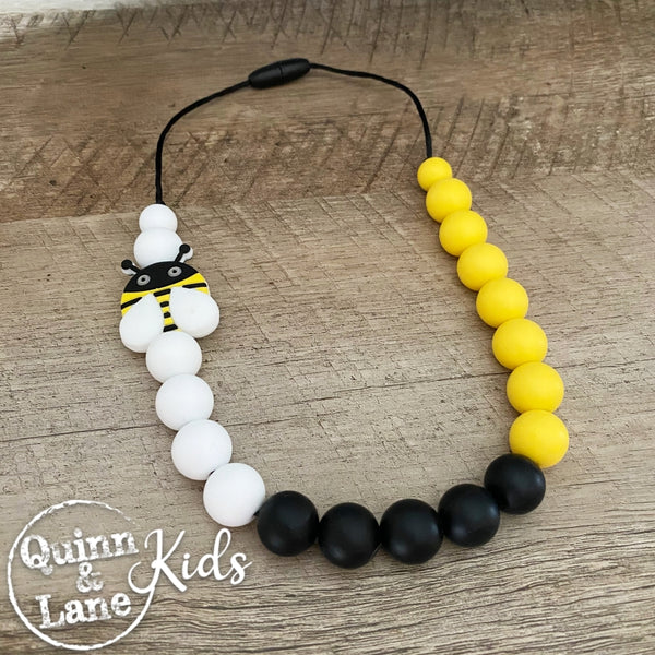 KIDS | Fidget Necklace - Buzzy Bee