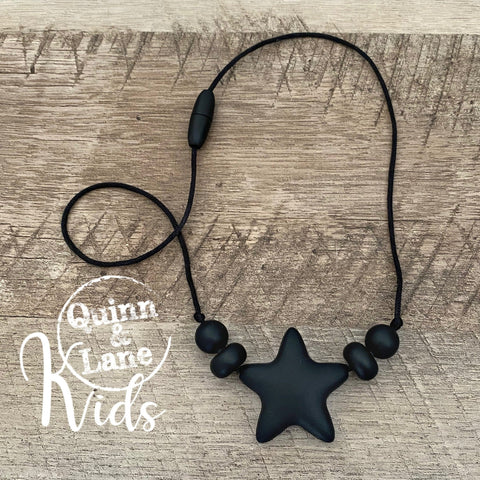 KIDS | Fidget Necklace - Solo Star | MORE COLORS