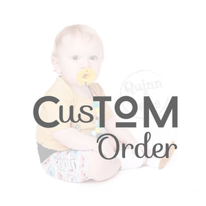Custom Order Reserved for Becca L