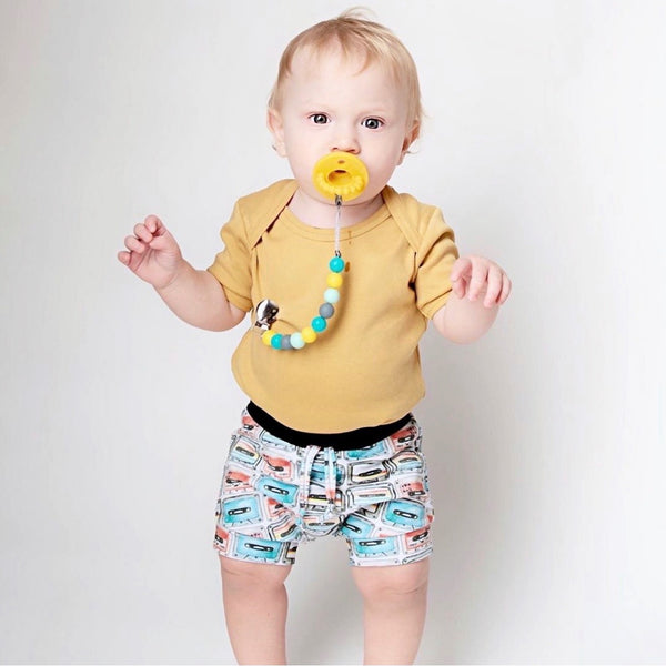 PACIFIER | Teething Clip - Simple Classic - Gender Neutral | SET or Single