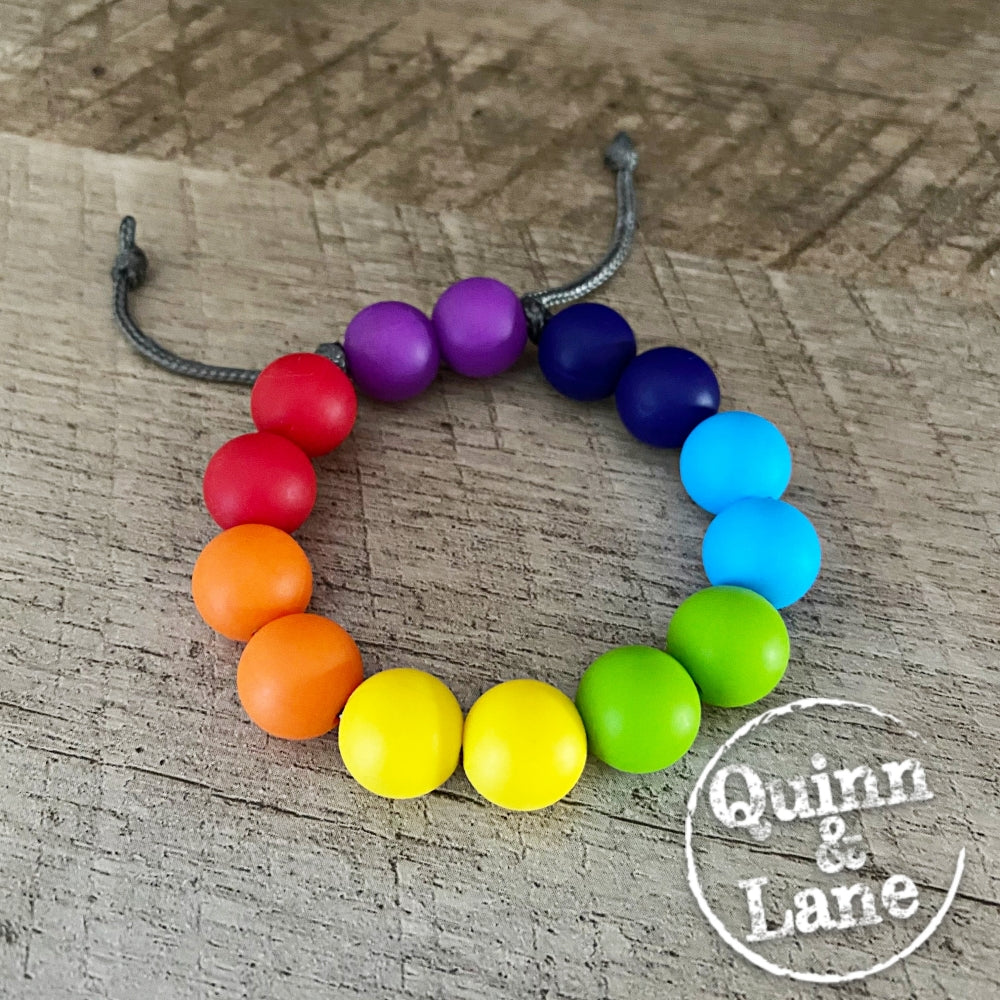 BRACELET | Adjustable (3-12yrs) - Bright Rainbow