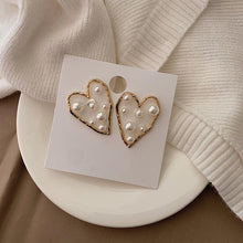 Load image into Gallery viewer, Statement Pearl Stud Earrings - MatchMatch