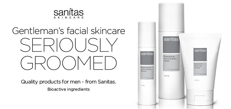 sanitas skincare for Him at MyBeautyAvenue