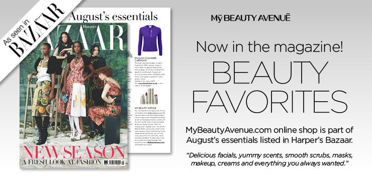 MyBeautyAvenue in Harper's Bazaar
