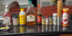easy homemade recipe BBQ sauce ingredients