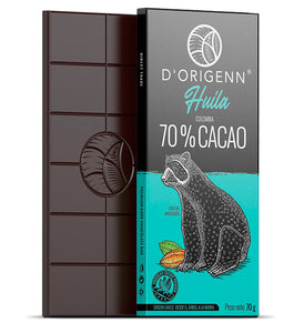 Barras de chocolate D'ORIGENN