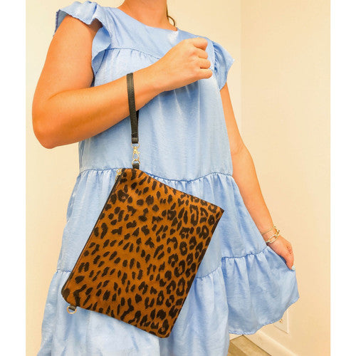 Leopard Multi-Function Bag