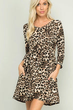 Load image into Gallery viewer, Leopard Dress