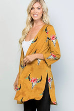 Load image into Gallery viewer, Mustard Southern Cardigan