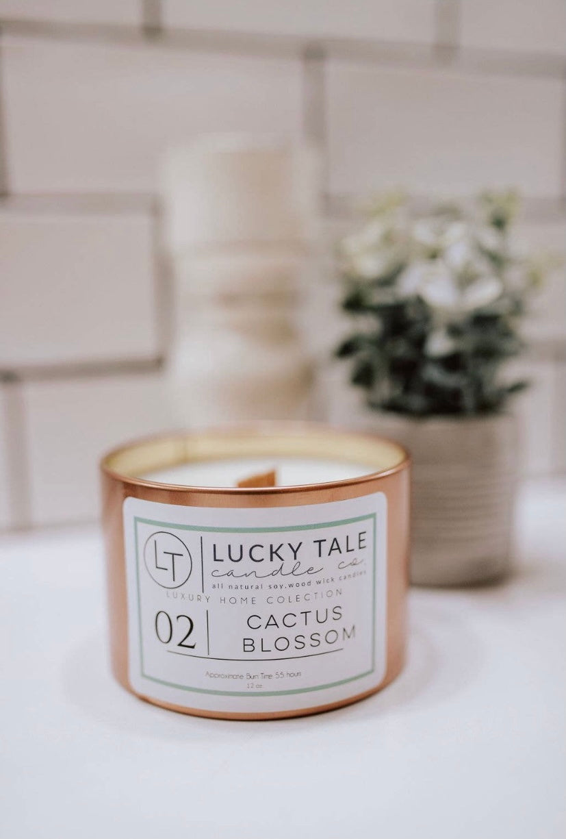 Cactus Blossom Candle