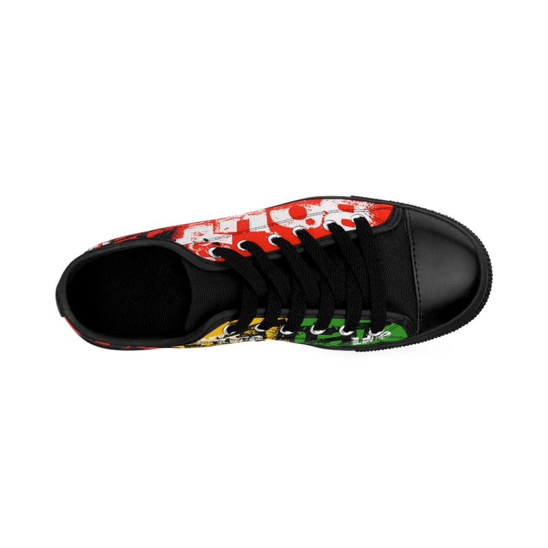 Red Signature Logo Men's Sneakers