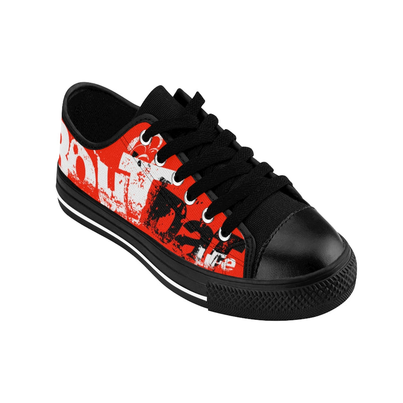 Red Signature Logo Women's Sneakers