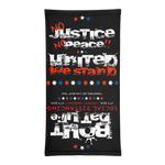 No Justice No Peace United We Stand Two In One Neck Gaiter