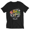 Rasta Seattle USA V-Neck T-Shirt for Her