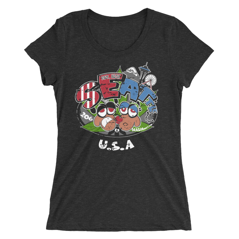 Reggae Seattle USA T-Shirt for Her