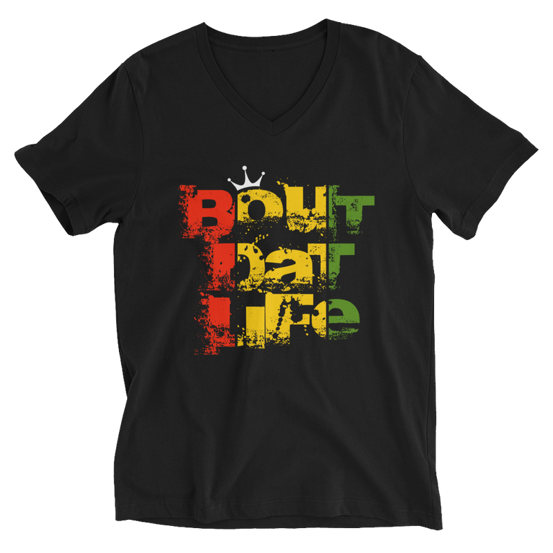 Rasta Signature V-Neck T-Shirt for Him