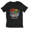 Reggae Jamaica Is iRie So Roll One V-Neck T-Shirt for Him