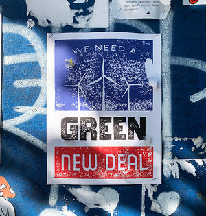 Posters for a Green New Deal: In the News & In the Wild
