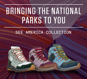 See America x Merrell Hiking Boots!