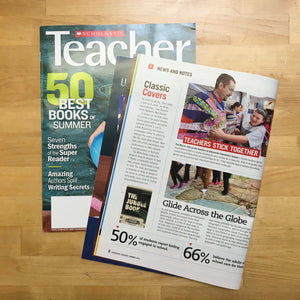 Recovering The Classics Featured in Scholastic Teacher Magazine