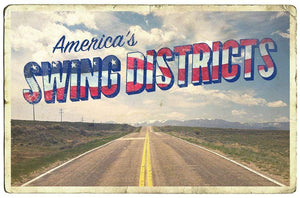 July Design Challenge: Postcards from America's Swing Districts