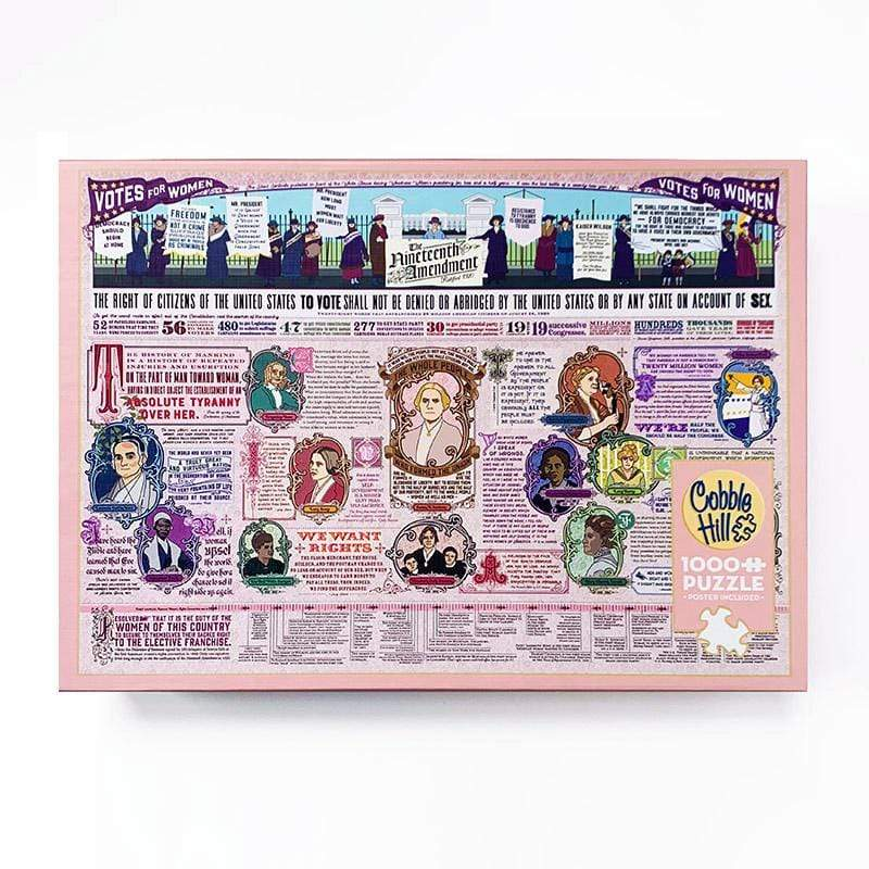 19th Amendment Jigsaw Puzzle Puzzle Creative Action Network