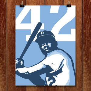 "42 by Ryan O'Donnell 18"" by 24"" Print / Unframed Print Transcend - Moments in Sports that Changed the Game"