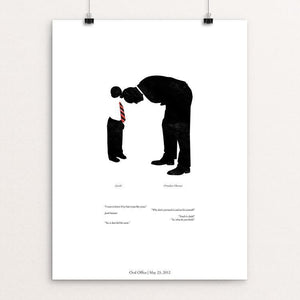 "44: Jason by Matt Brass 12"" by 16"" Print / Unframed Print Design For Obama"