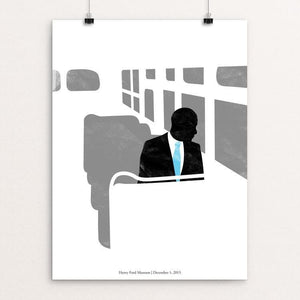 "44: Rosa by Matt Brass 12"" by 16"" Print / Unframed Print Design For Obama"