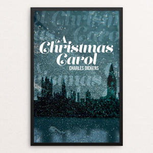 "A Christmas Carol by Lauren Wagner 12"" by 18"" Print / Framed Print Recovering the Classics"