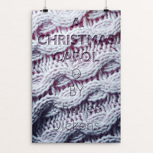 "A Christmas Carol by Medeea Iancu 12"" by 18"" Print / Unframed Print Recovering the Classics"