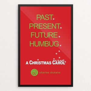 "A Christmas Carol by Robert Wallman 12"" by 18"" Print / Framed Print Recovering the Classics"