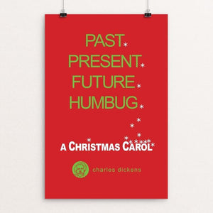 "A Christmas Carol by Robert Wallman 12"" by 18"" Print / Unframed Print Recovering the Classics"