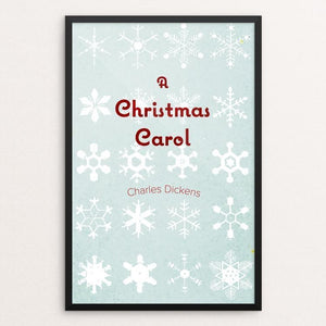 "A Christmas Carol by Tyler Allen Bradt 12"" by 18"" Print / Framed Print Recovering the Classics"