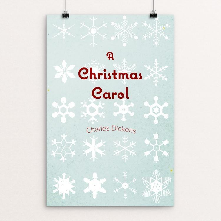 "A Christmas Carol by Tyler Allen Bradt 12"" by 18"" Print / Unframed Print Recovering the Classics"