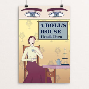 "A Doll's House by Mariana Solares 12"" by 18"" Print / Unframed Print Recovering the Classics"